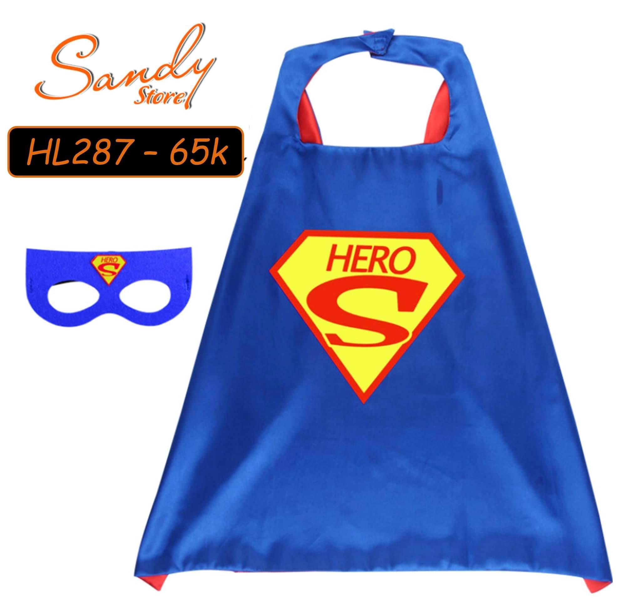 HL287 - Choàng Super Hero + Mặt Nạ