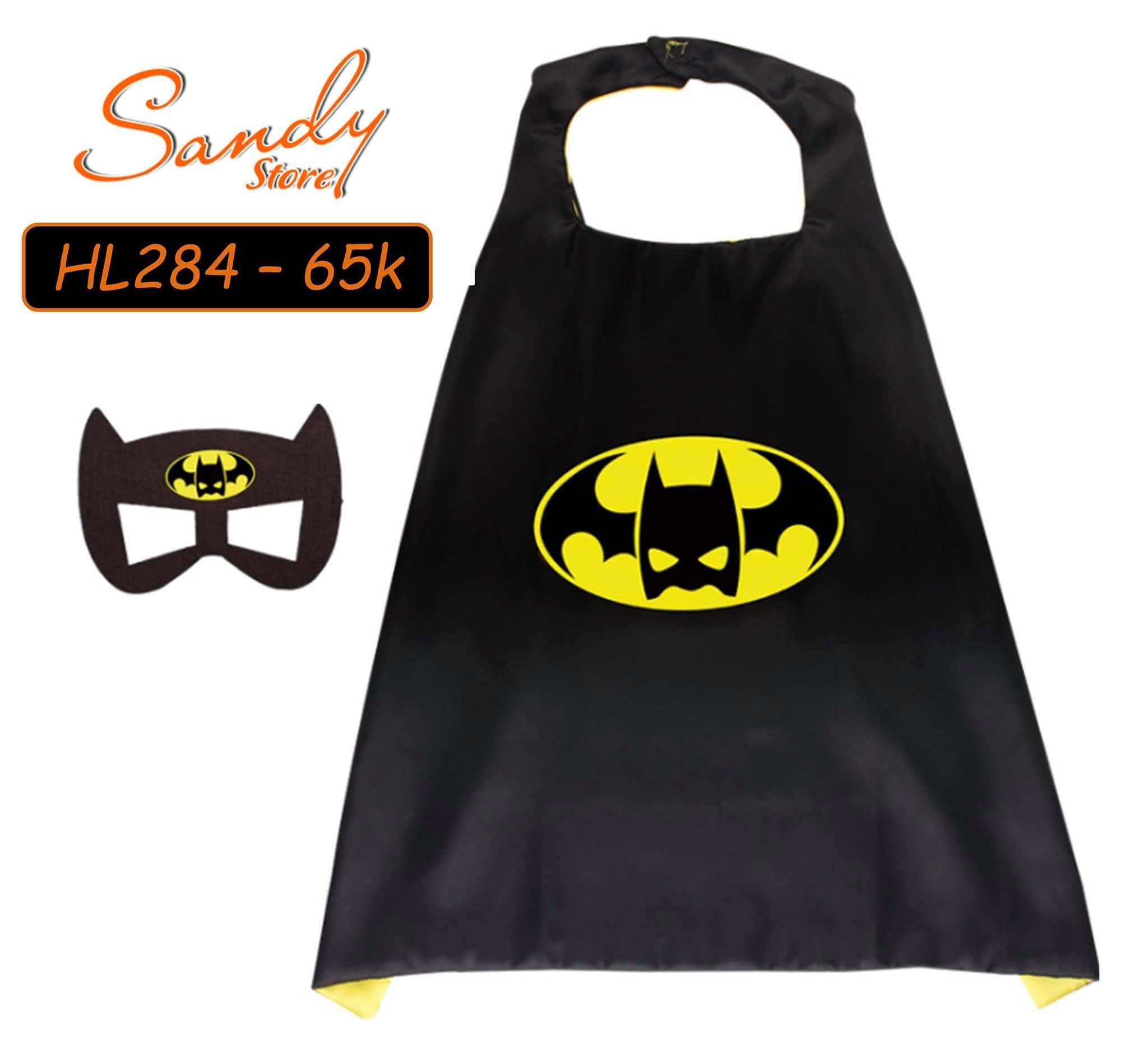 HL284 - Choàng Batman + Mặt Nạ