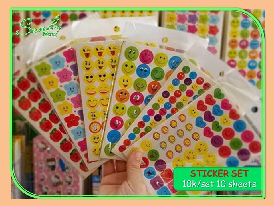 Sticker Set 10 Tấm