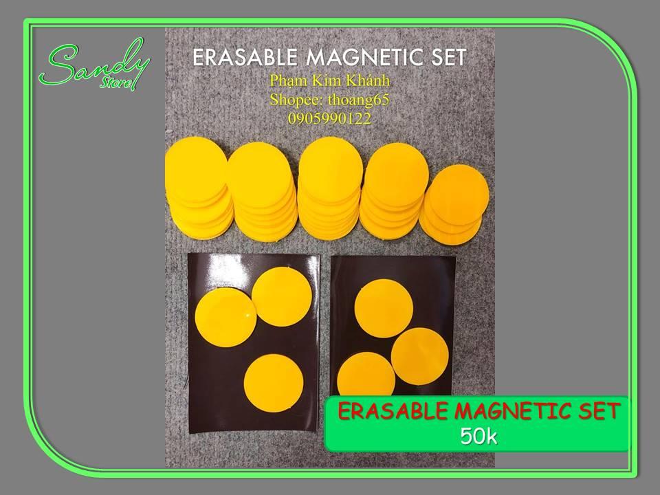 Erasable Magnetic Set