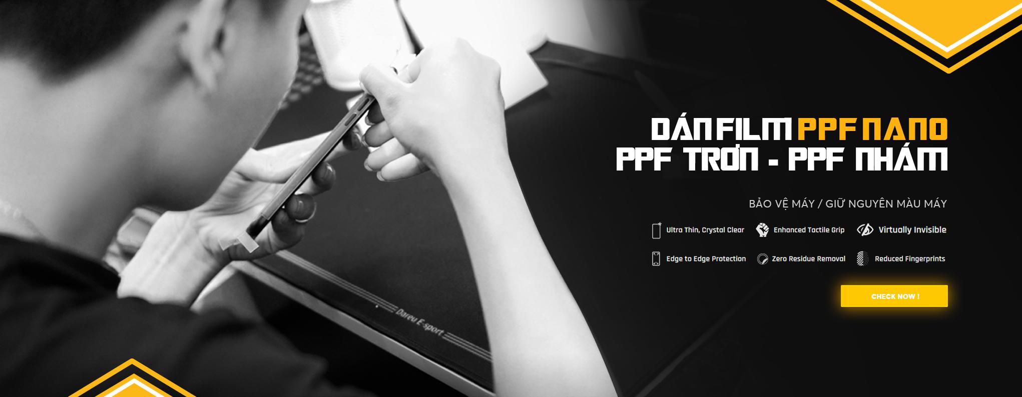 Dán Film PPF IPhone   Full Kín Lưng Viền Chính Xác Từng Chi Tiết Nhỏ