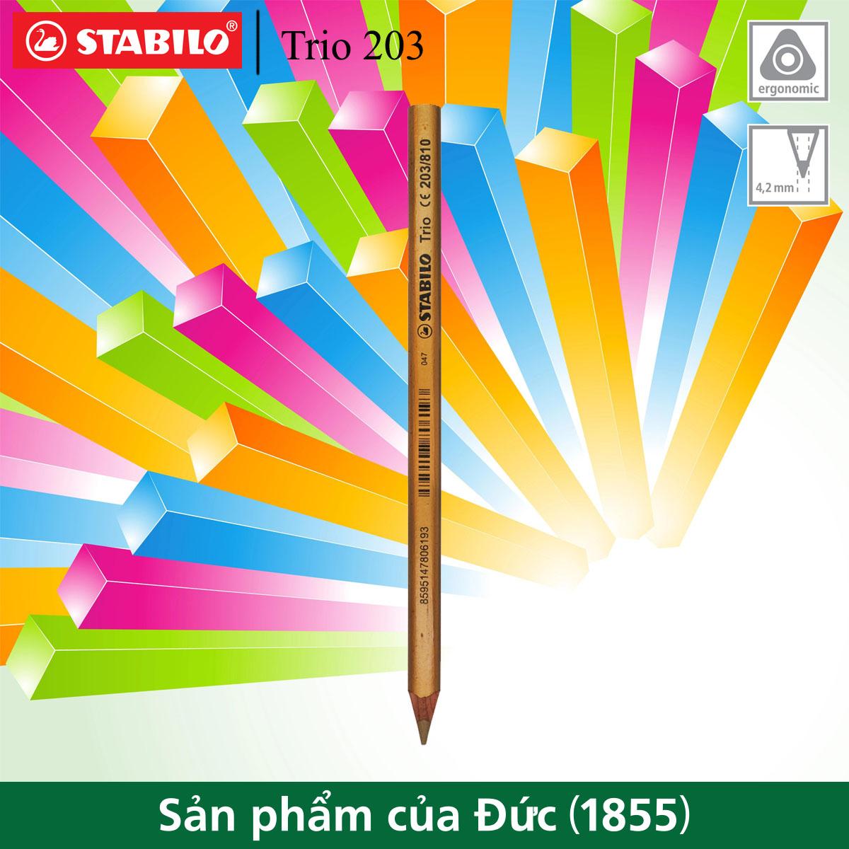 Bút chì màu nhũ STABILO Trio 203