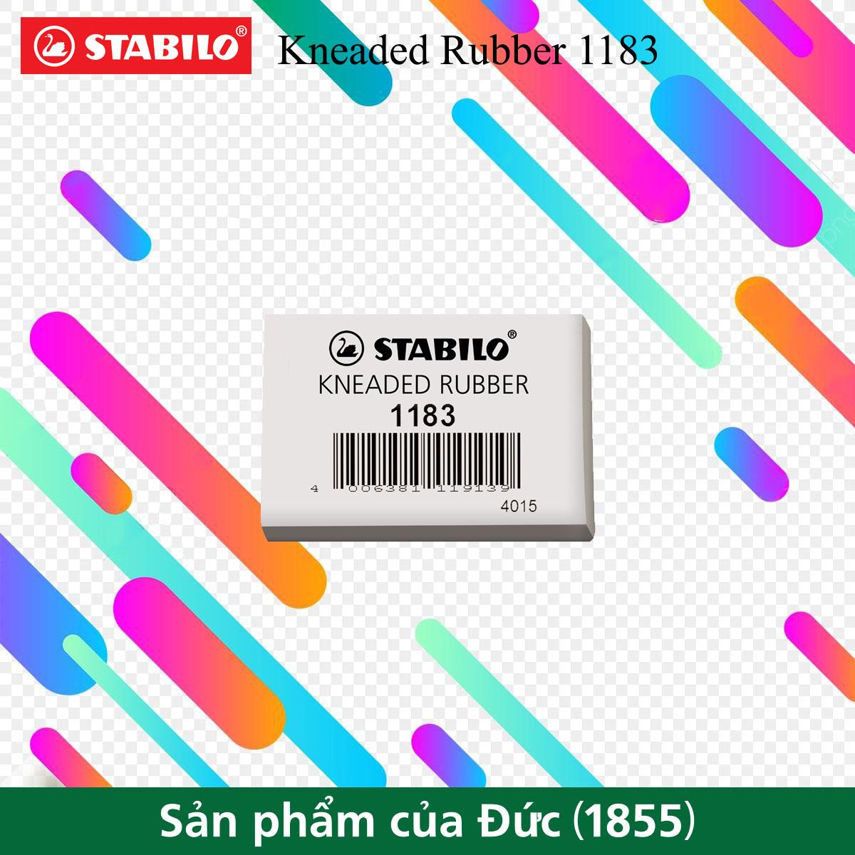 Gôm tẩy phấn STABILO Kneaded Rubber (ERC1183)