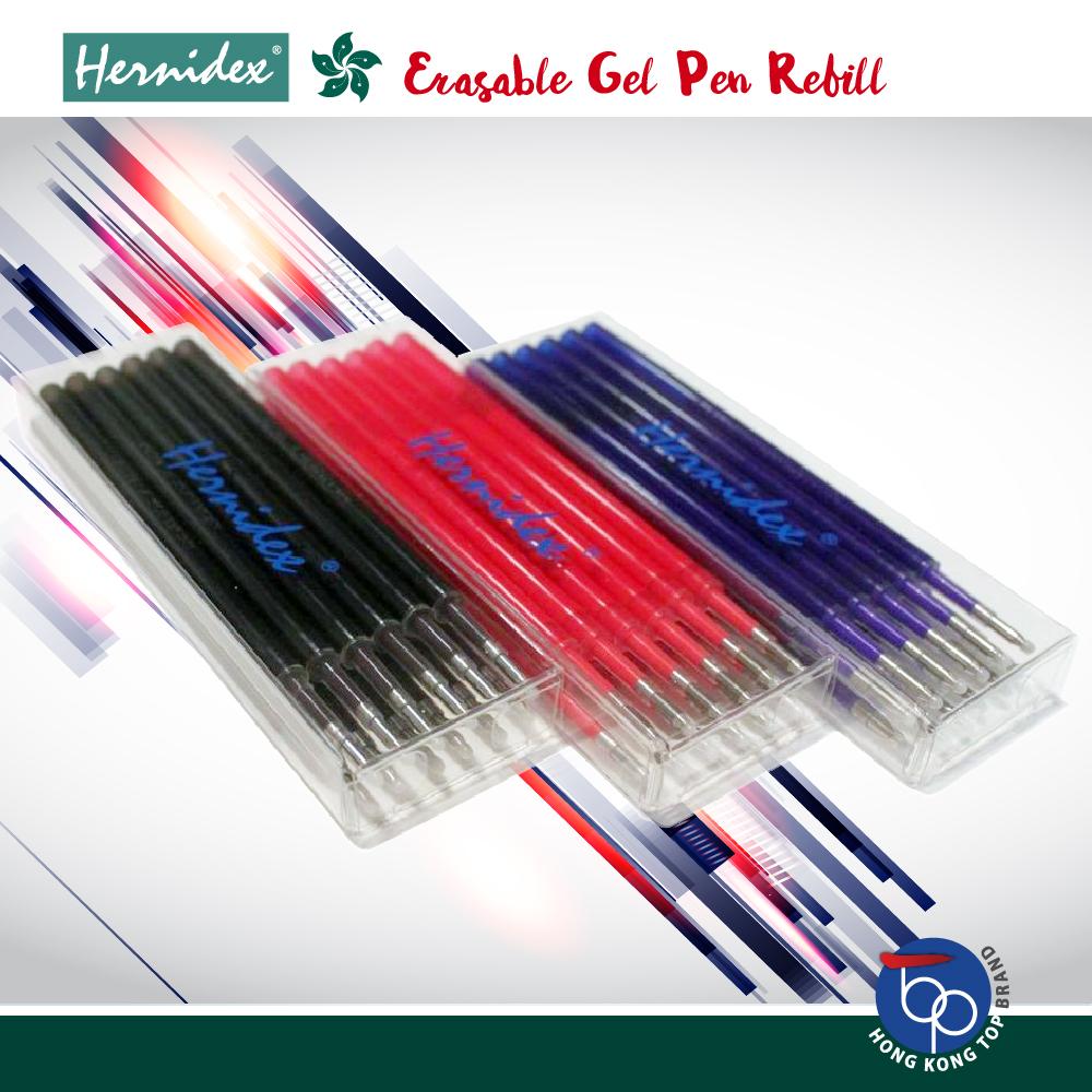 Bộ 12 Ruột Bút bi có đầu xóa Hernidex Erasable Gel Pen  (HDBPR690/12)