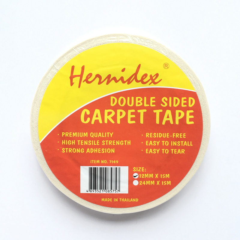 Băng keo 2 mặt dán thảm Hernidex DOUBLE SIDED CARPET TAPE (HDDC)