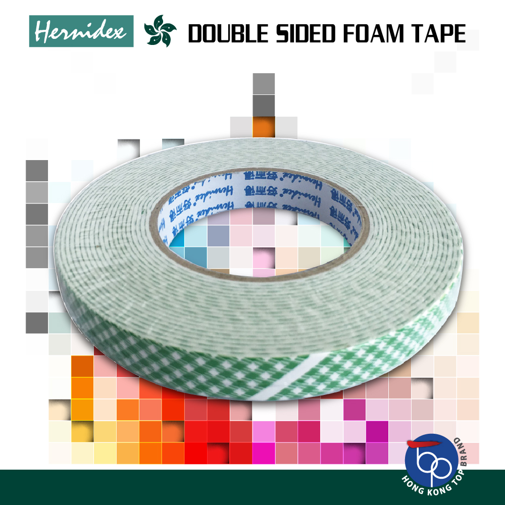 Băng keo xốp 2 mặt Hernidex DOUBLE SIDED FOAM TAPE (HDDS)