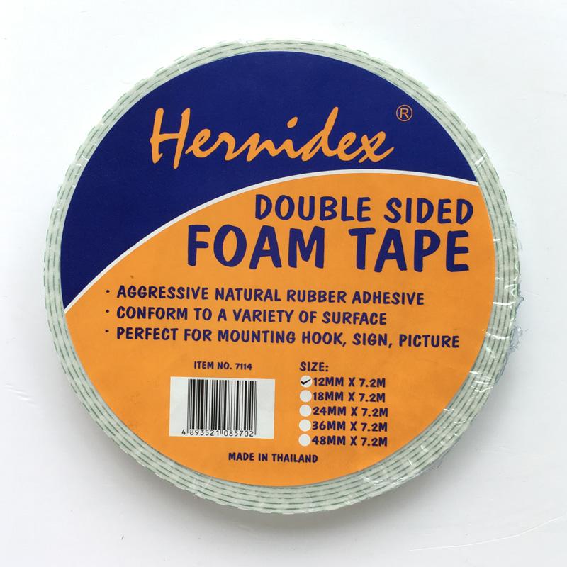 Băng keo xốp 2 mặt Hernidex DOUBLE SIDED FOAM TAPE (HDDS)
