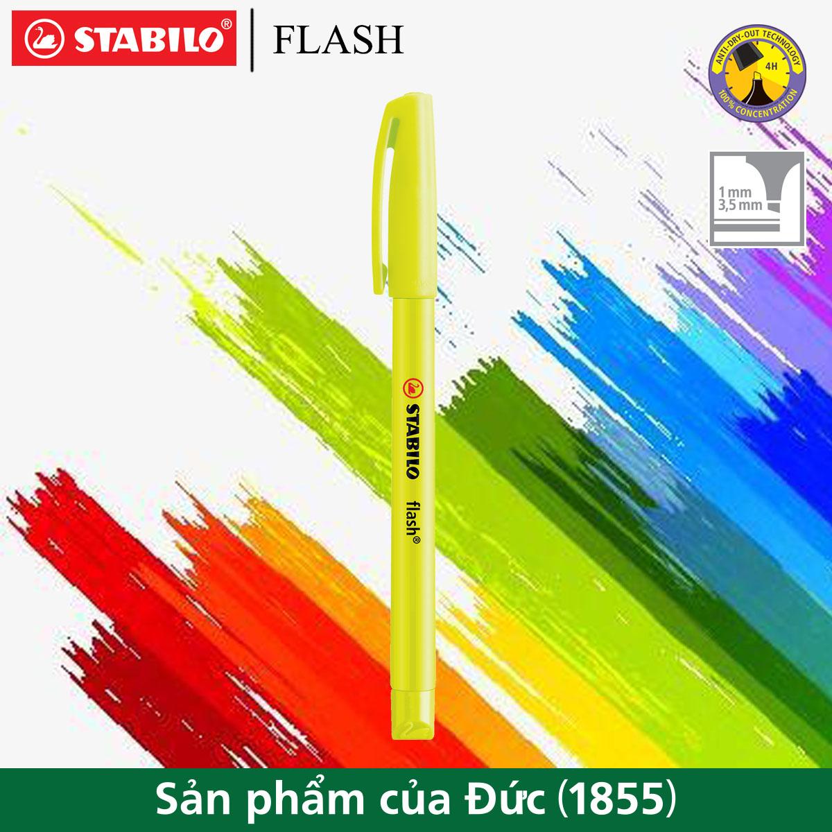 Bút dạ quang STABILO FLASH HL555