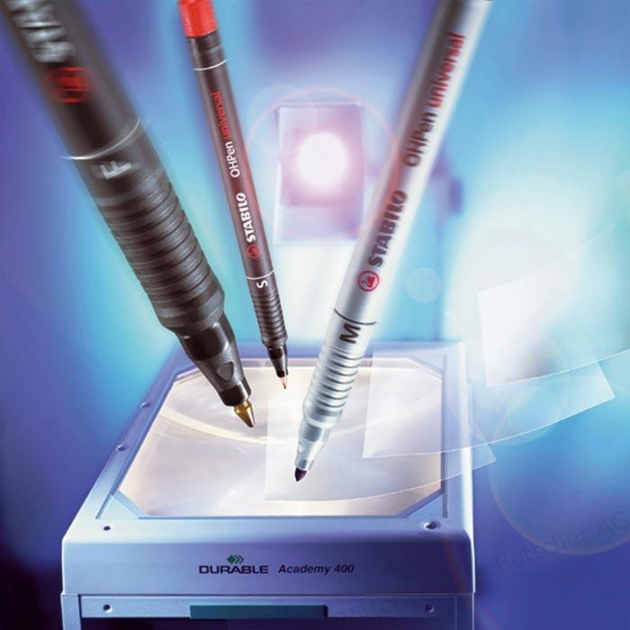Hộp 10 cây bút viết CD STABILO OHPen F 0.7mm (HP842F/10)