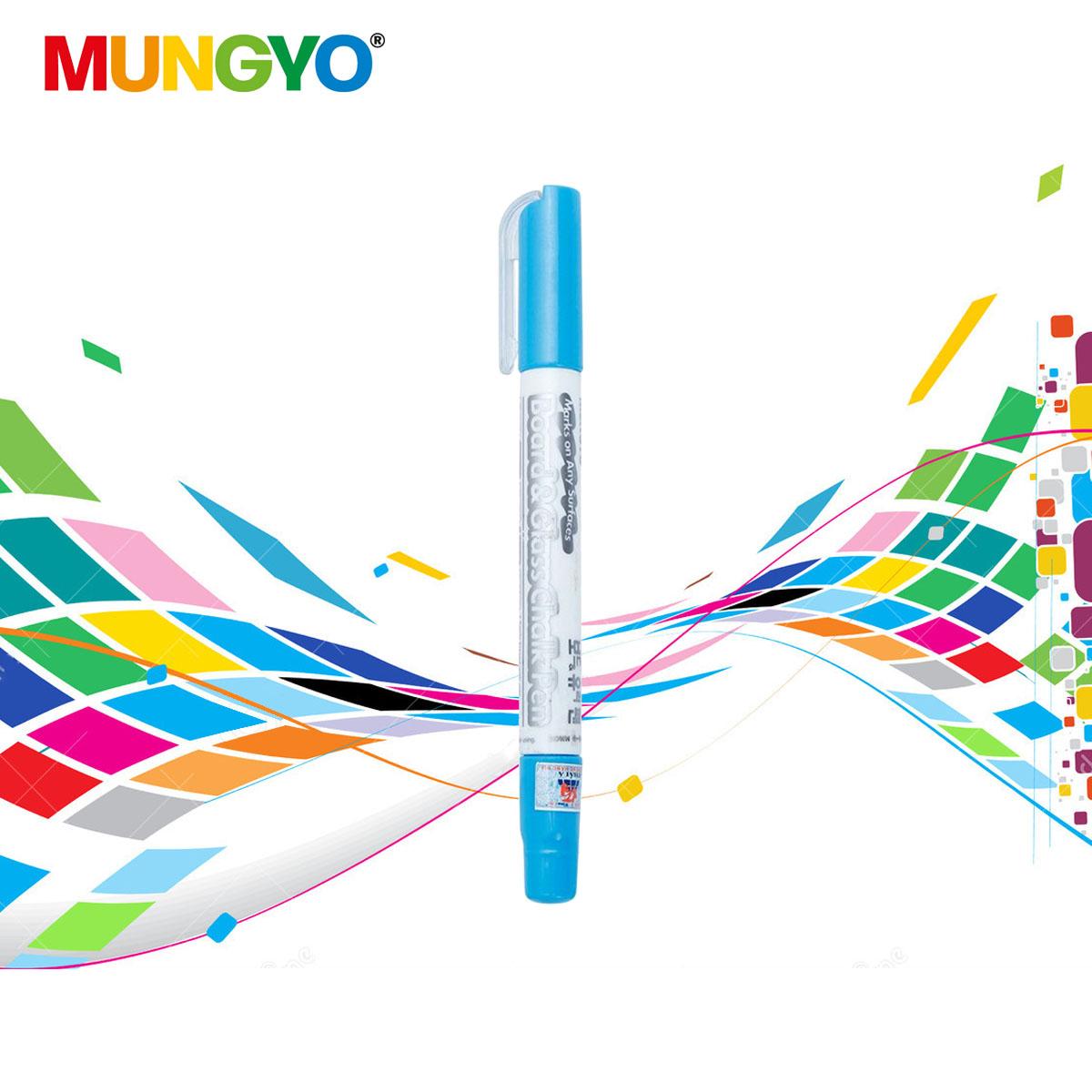 Phấn màu xoay MUNGYO Board & Glass Chalk Pen
