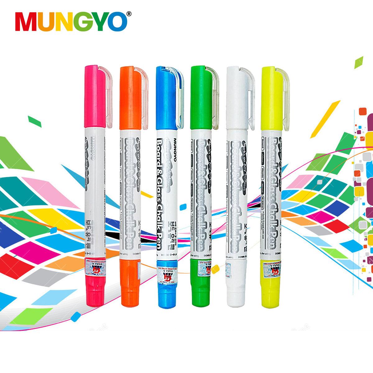 Bộ 6 cây phấn màu xoay Mungyo (MBG-6C)