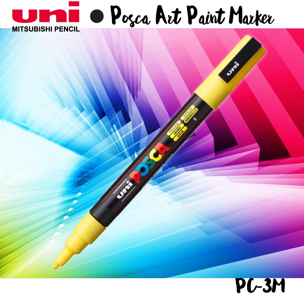 Bút lông màu nước uni posca PC3M