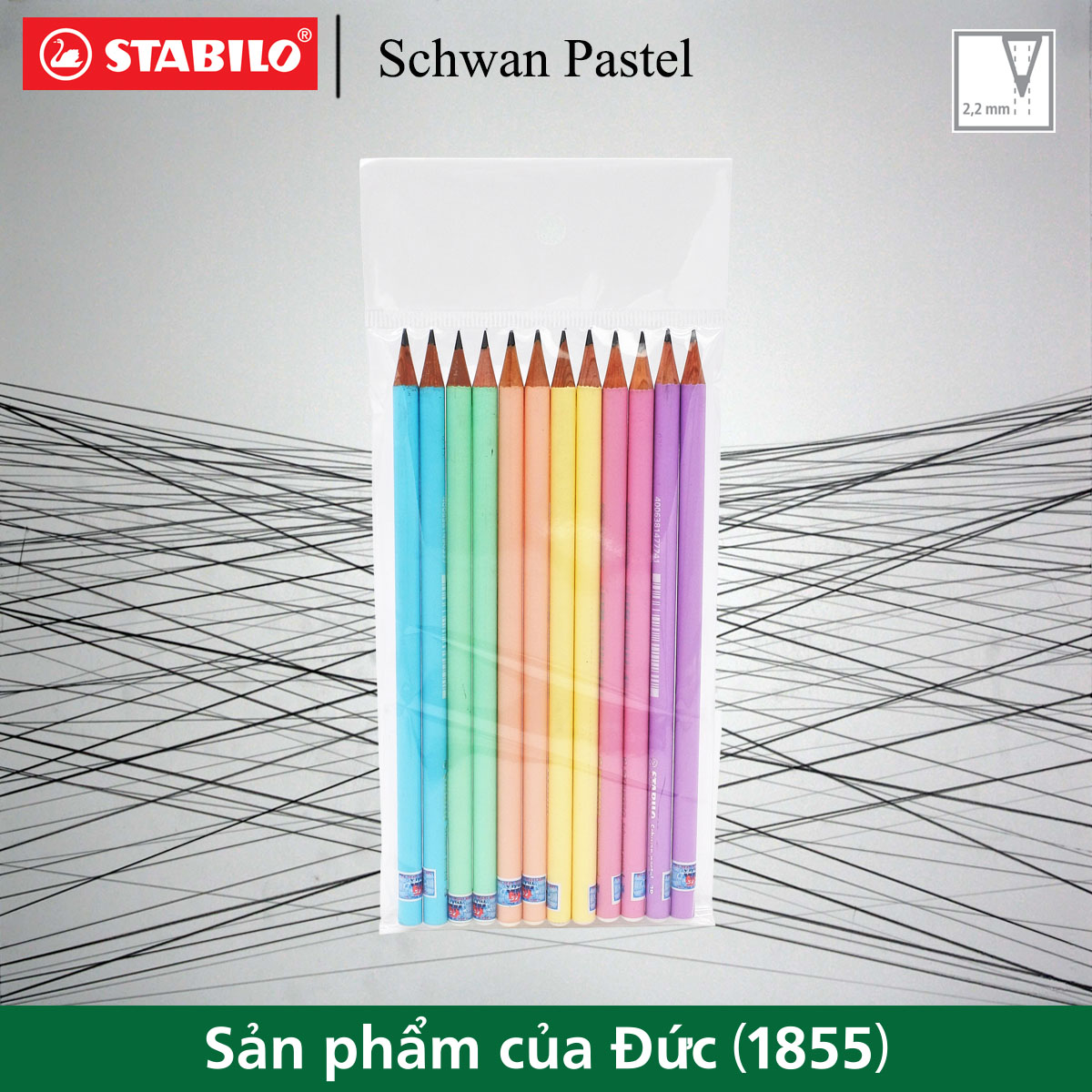 combo-12-cay-but-chi-go-stabilo-schwan-pastel-2b-pc421-c12