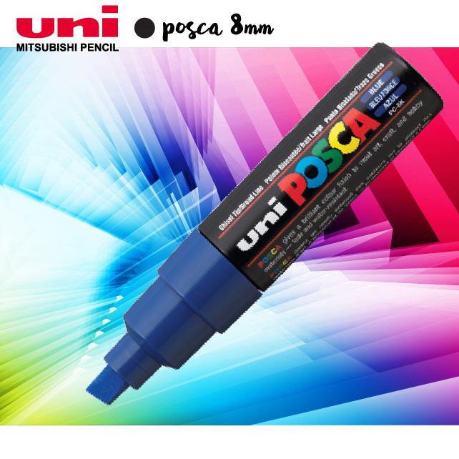 Bút nghệ thuật uni POSCA 8mm (PC8K)