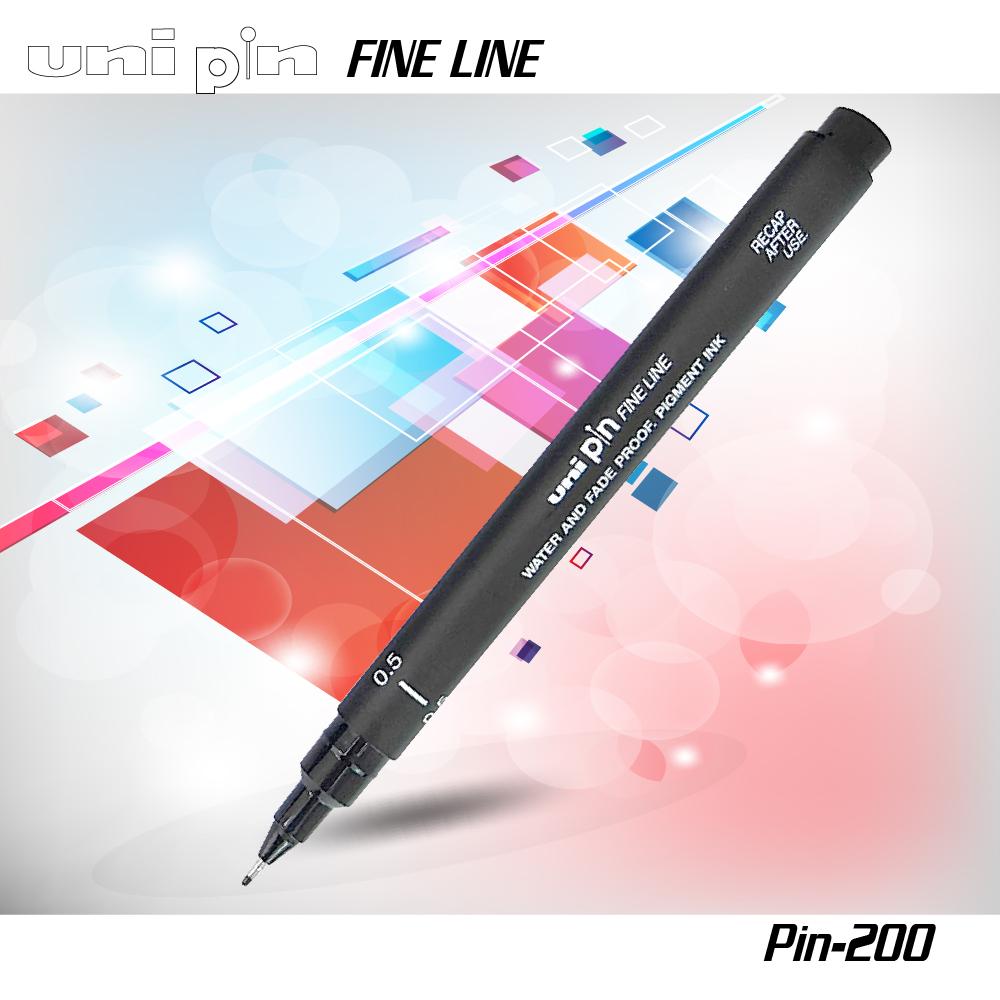Bút kỹ thuật uni MITSUBISHI PIN200