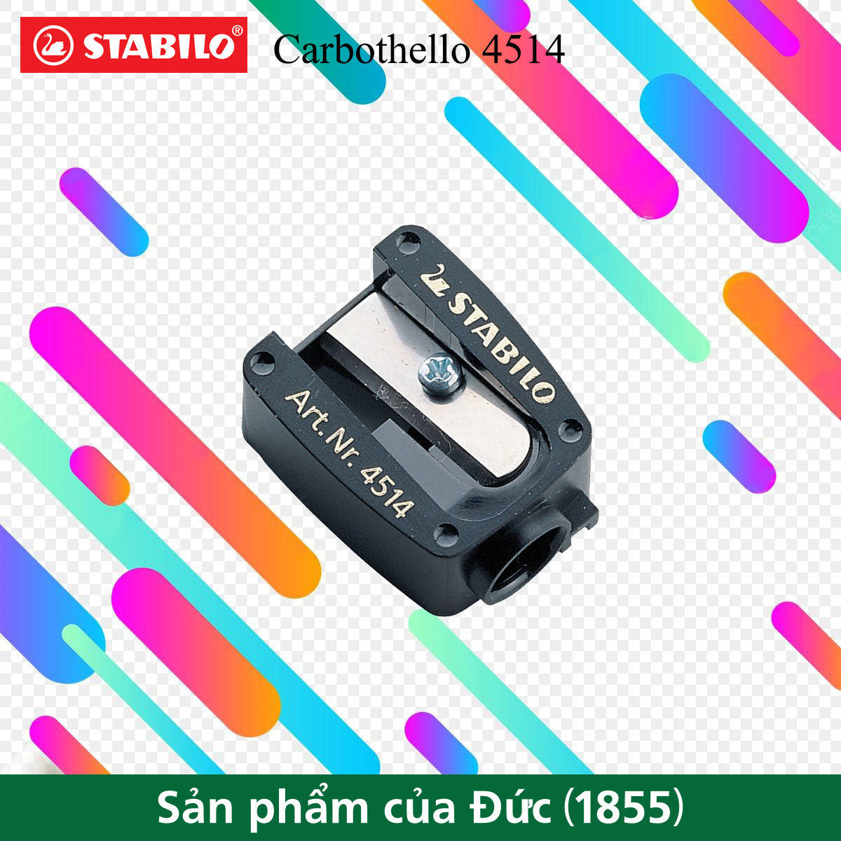 Chuốt bút chì STABILO Carbothello PSC4514