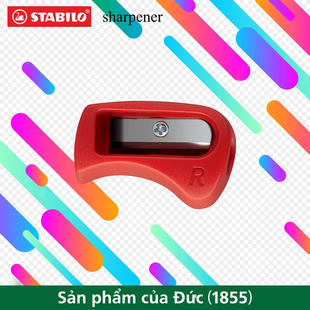 Chuốt bút chì hình thể học STABILO sharpener PSE4532R (tay phải)