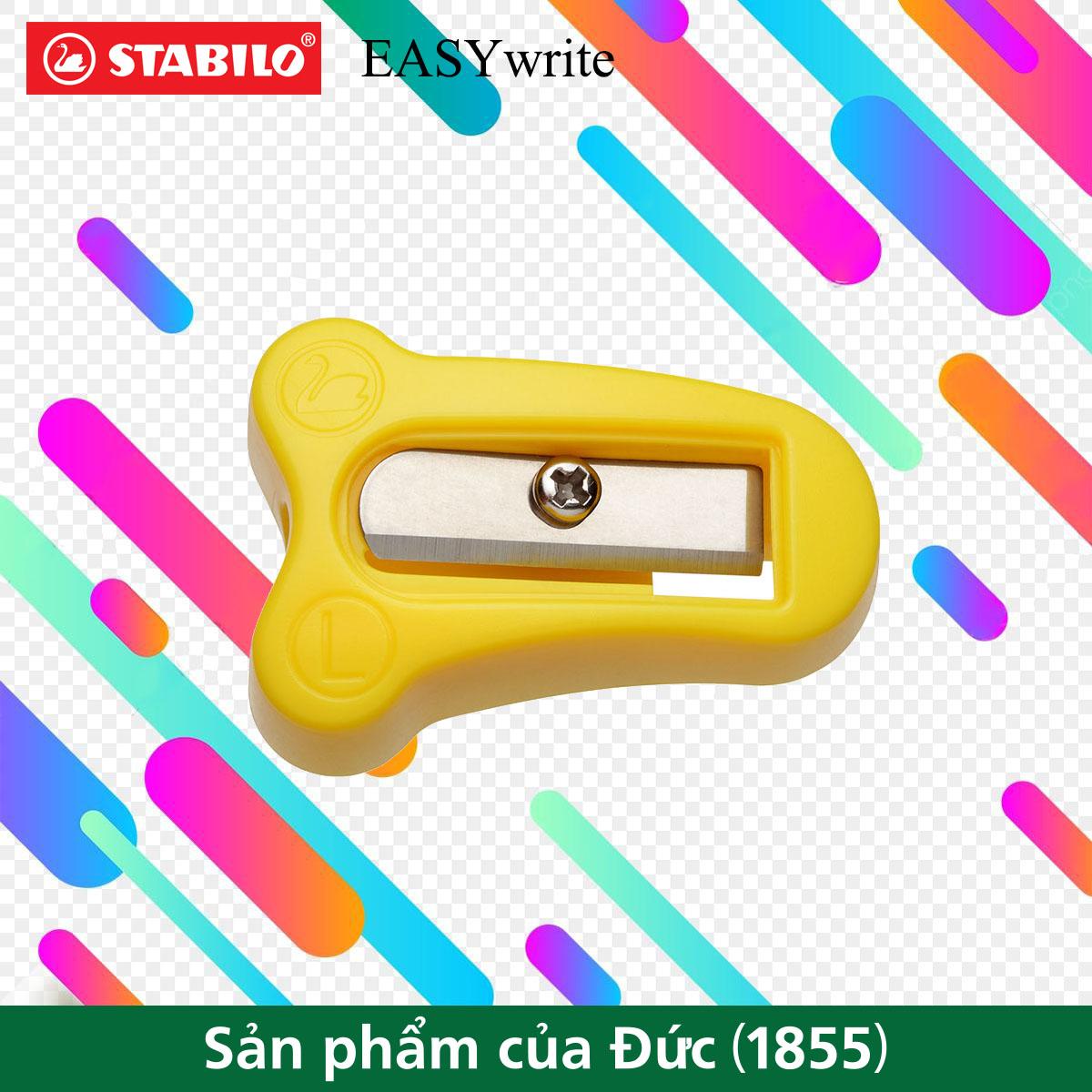 Chuốt bút chì hình thể học STABILO EASYwrite thuận tay trái (PSE4533L)
