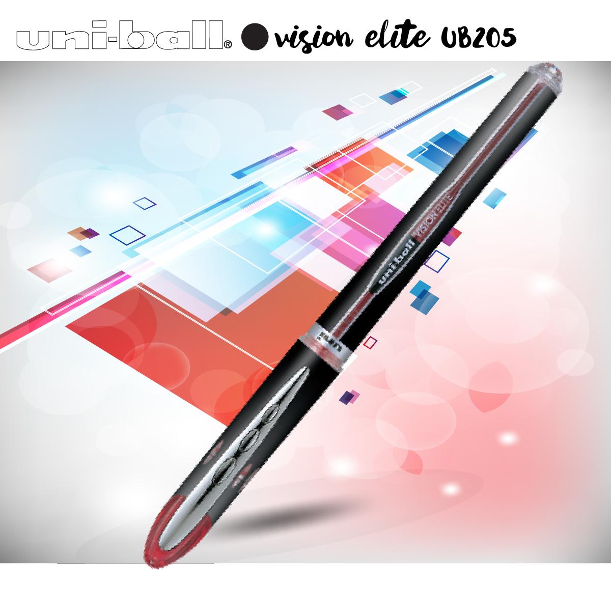 Bút bi nước nắp UNI-ball VISION ELITE 0.5mm (UB205)