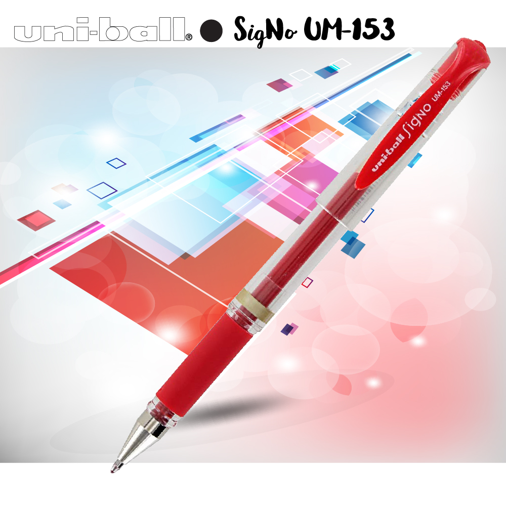Bút mực gel UNI-ball SigNO BROAD 1.0mm (UM153)
