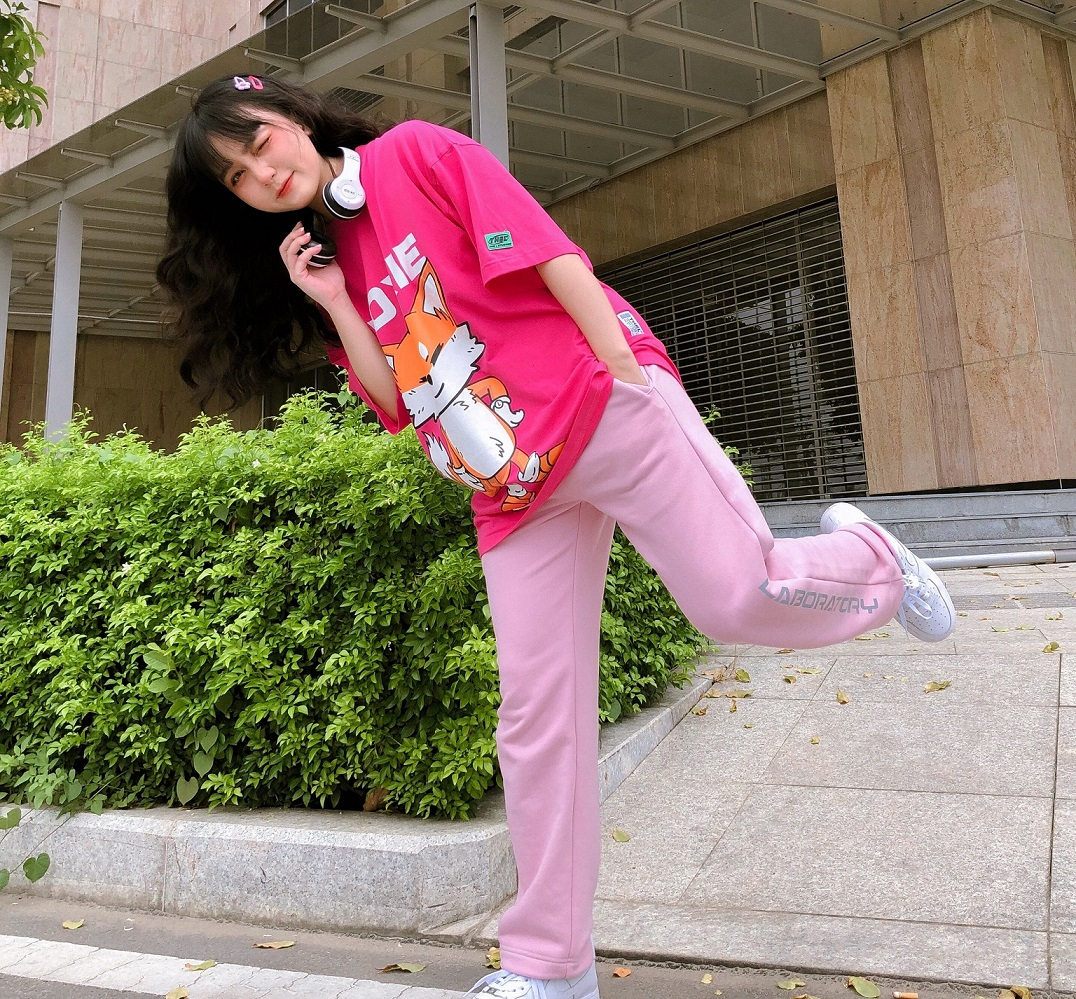 Pants Laboratory Pink - Phản Quang