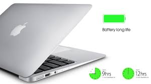 Tuổi thọ pin cuả macbook air