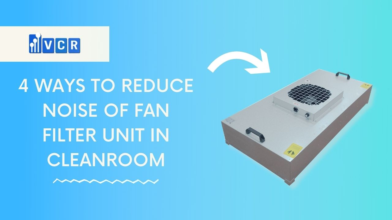 fan filter unit noise level