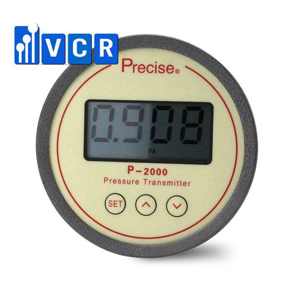 digital differential pressure gauge by VCR