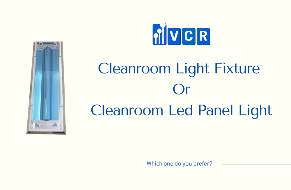 Clean room light fixtures vs clean room led panel light