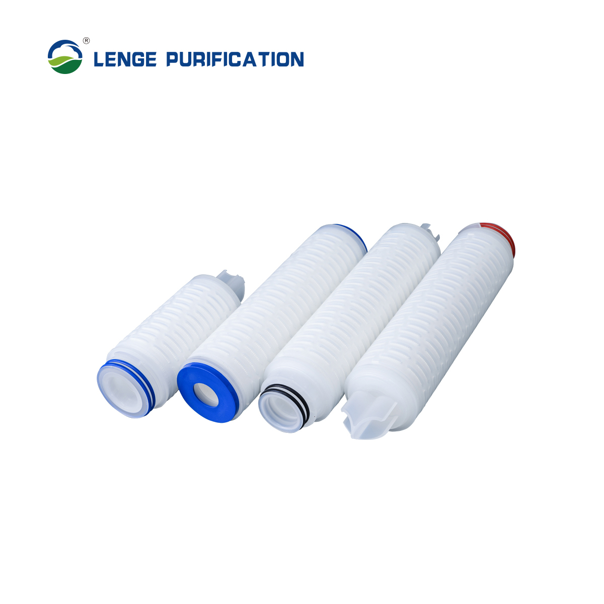 LENGE PTFE Microporous Membrane Pleated Filter Element
