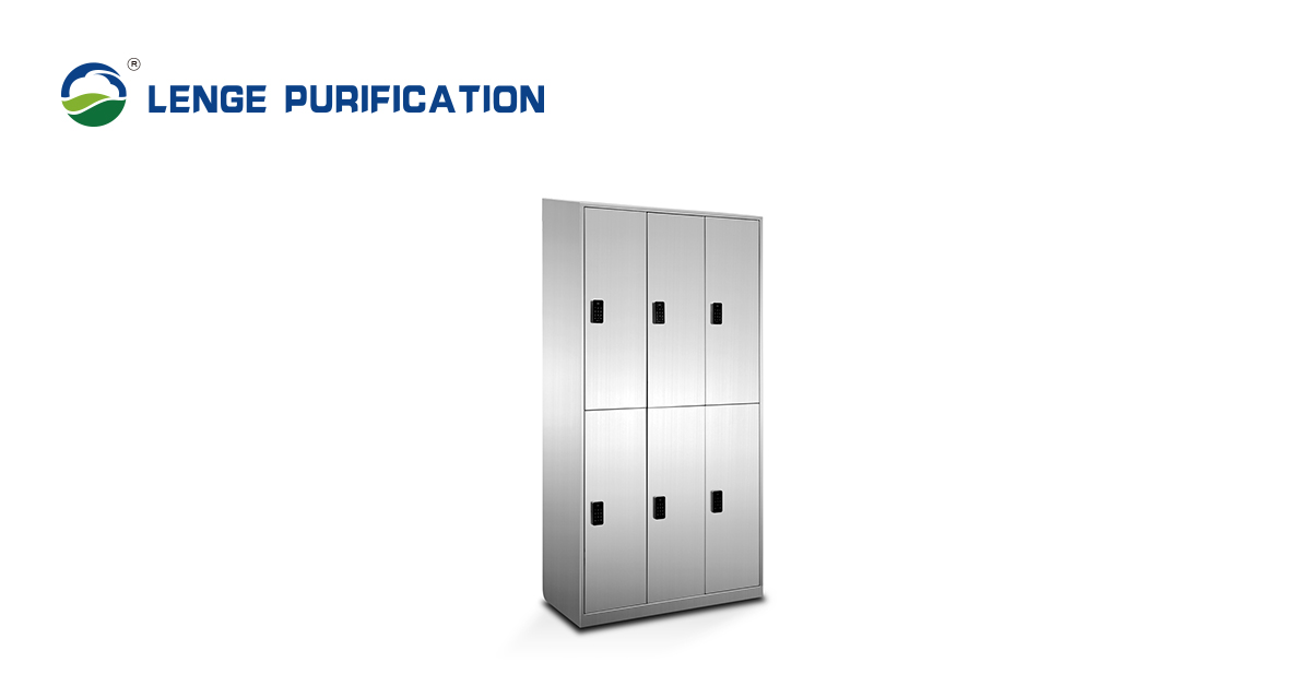 LENGE Stainless Steel Cabinet With Coded Lock