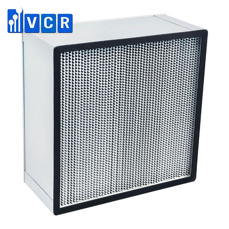 Aluminum Foil Separator HEPA Filter