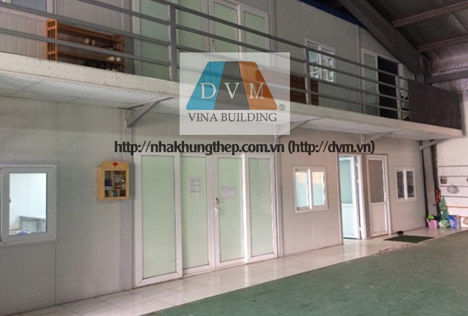Nhà lắp ghép 2 tầng - Nhà điều hành công trường tại Ninh Hiệp - Gia Lâm - HN