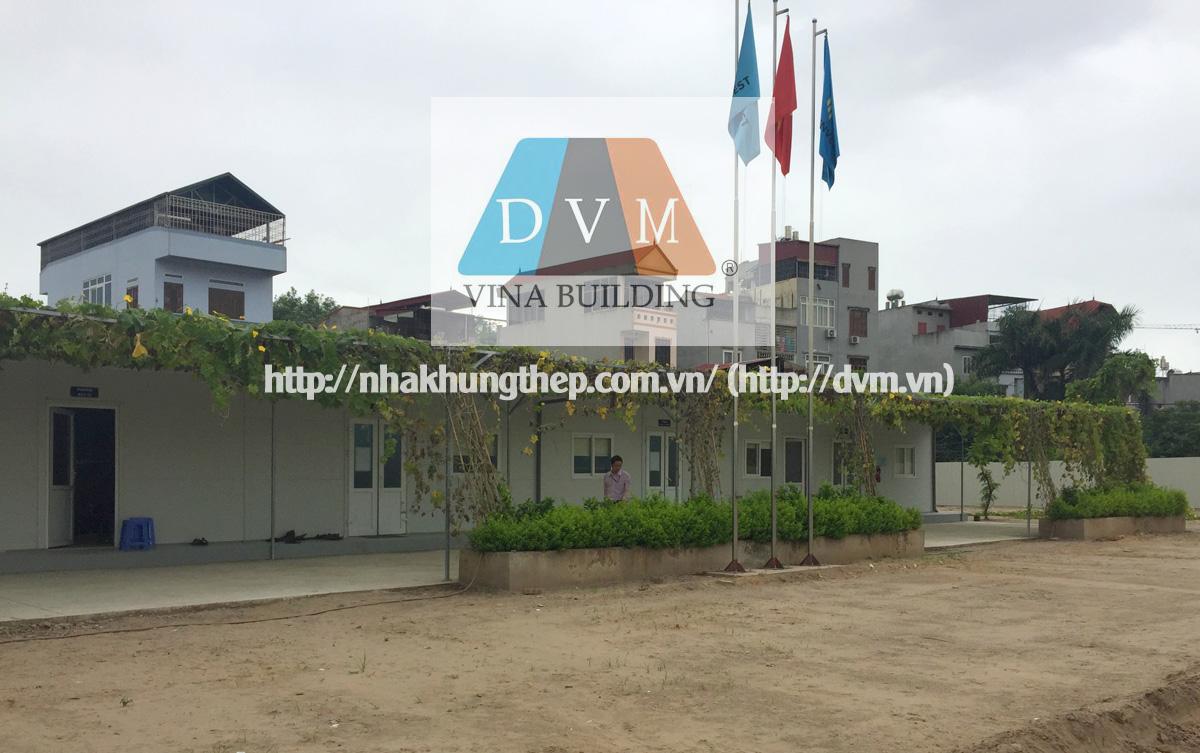Nhà lắp ghép điều hành công trường tại Cổ Nhuế - Hà Nội