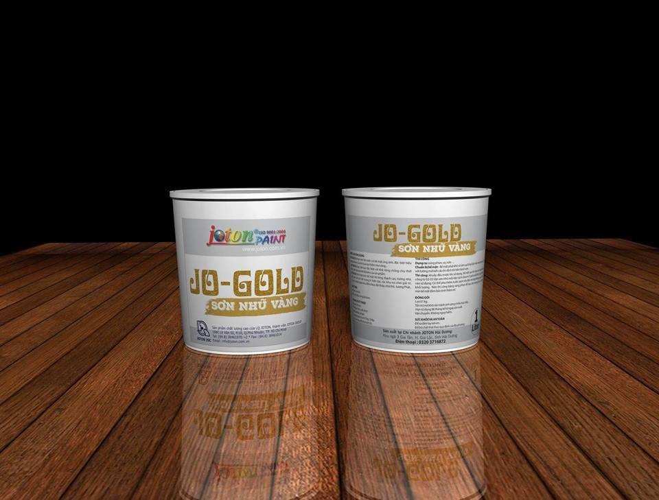Sơn Nhũ Vàng Joton Jo-GOLD (1L)