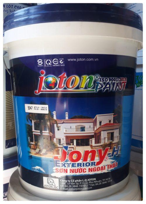 Sơn ngoại thất JOTON®JONY-H EXT – Mịn (18L)