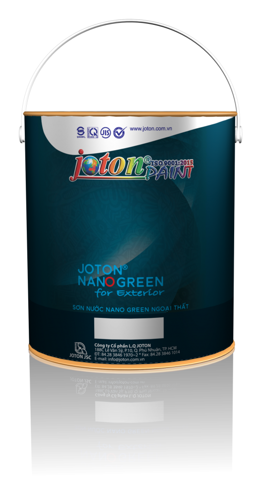 Sơn Ngoại thất Joton Nano Green (04kg)