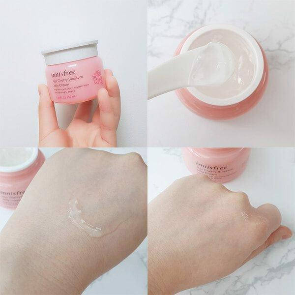 Kết quả hình ảnh cho innisfree jelly cream