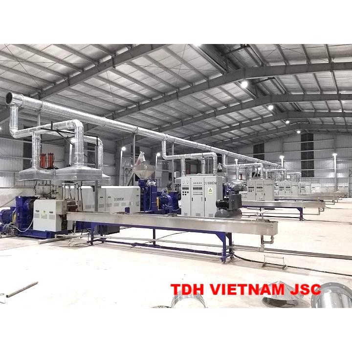 Hệ thống thông gió và xử lý khí thải cho nhà máy xử lý nhựa KLA
