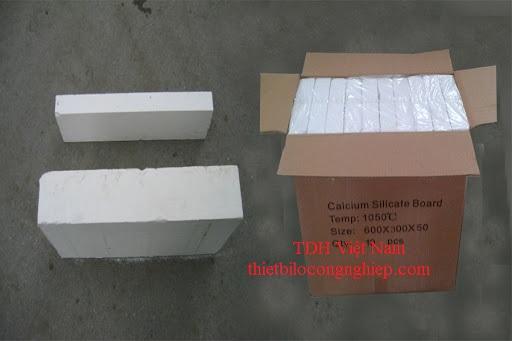 Tấm cách nhiệt Calcium silicate