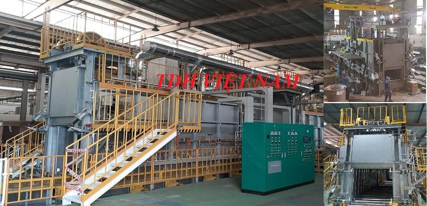 Lò xử lý nhiệt T6