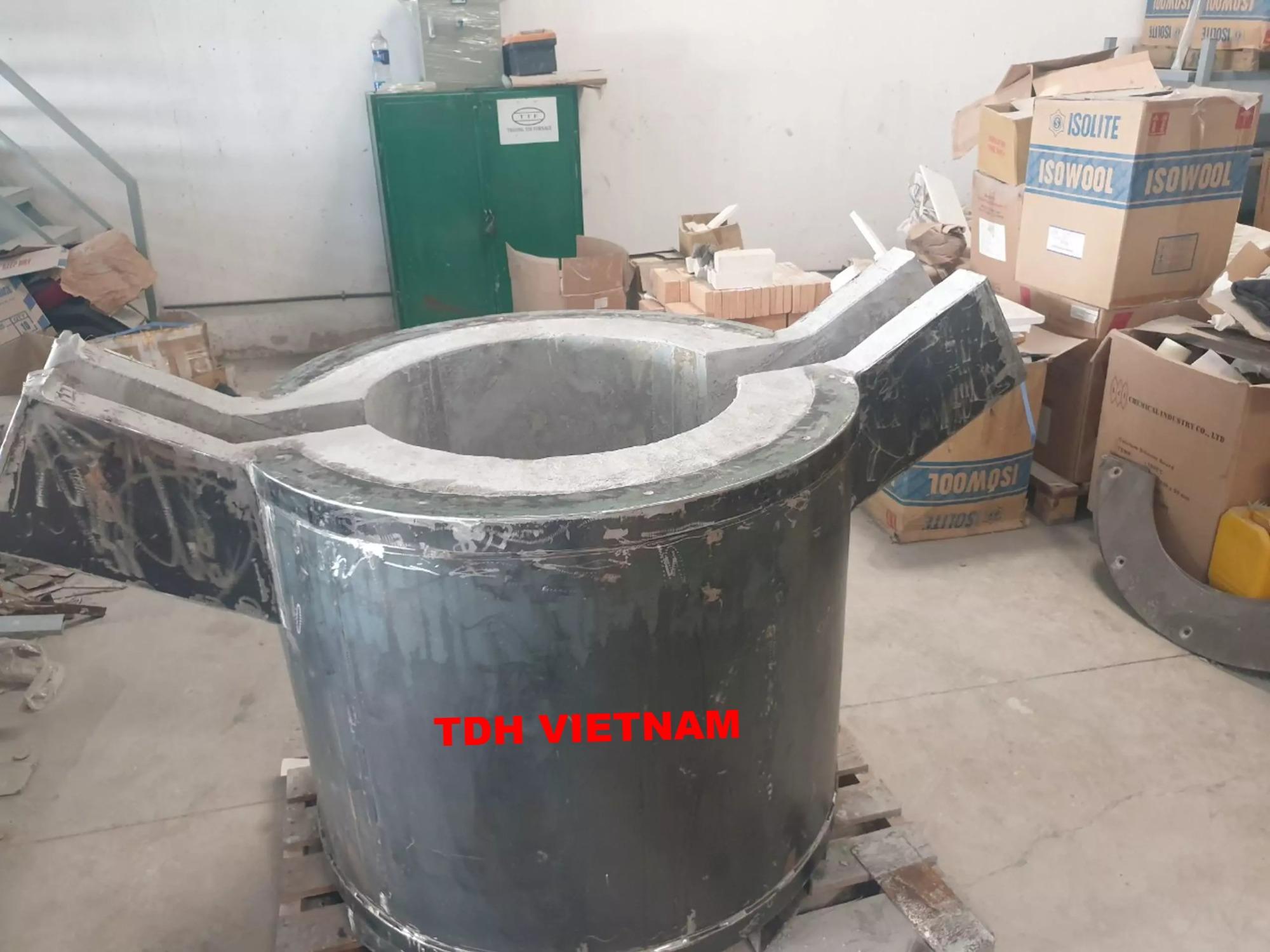 Bộ sấy và nồi vận chuyển trữ lượng 250-750 kg