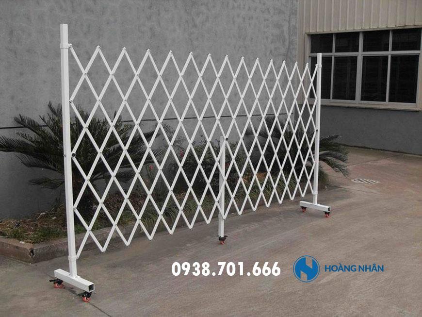 Mẫu Hàng rào xếp sắt sơn tĩnh điện