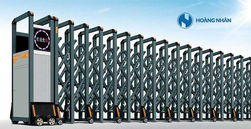 Model HN A02 - Cổng xếp hợp kim nhôm phổ thông