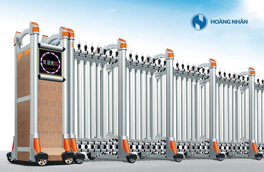 Mẫu Cổng xếp nhôm hợp kim Model HN-A760