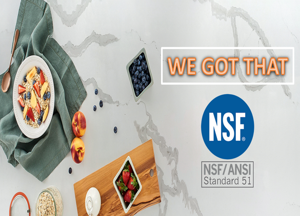 [GREAT NEWS] NSF CERTIFICATION - WE GOT THAT!