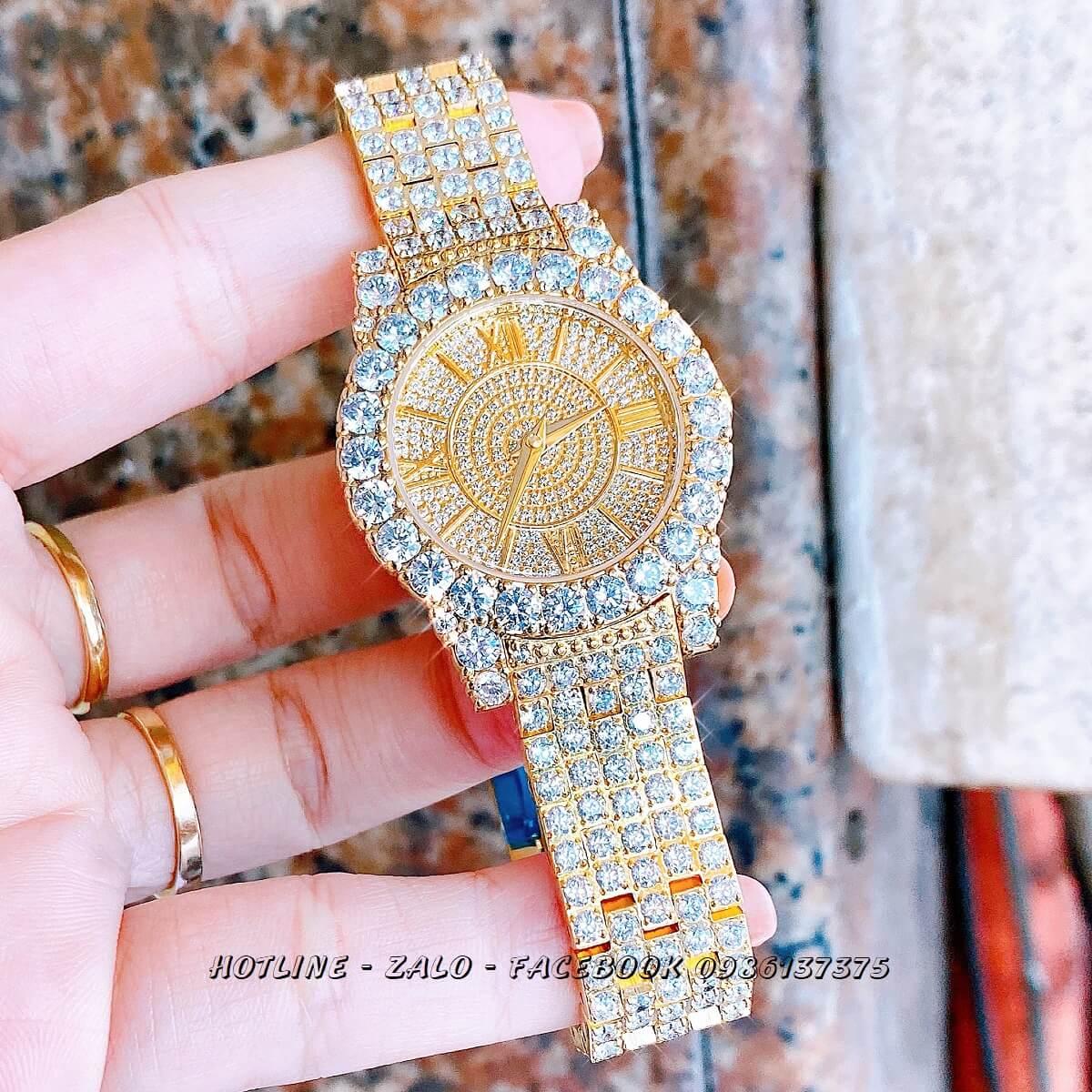 Đồng Hồ Chopard Nữ Đính Xoàn Gold 31mm