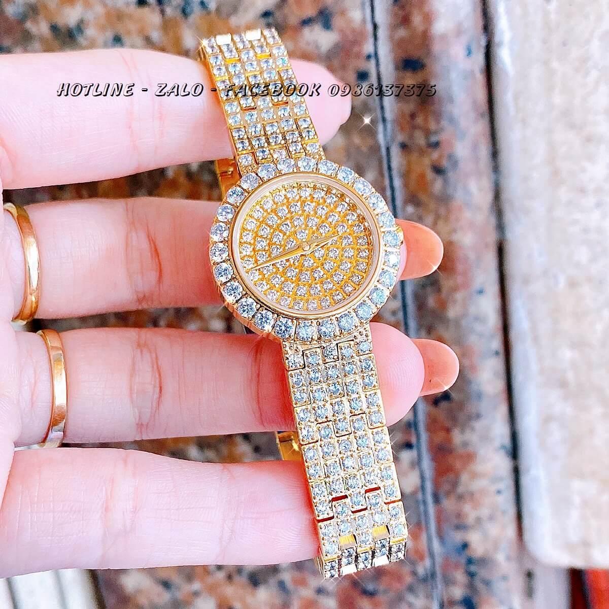 Đồng Hồ Piaget Nữ Đính Xoàn Gold 26mm