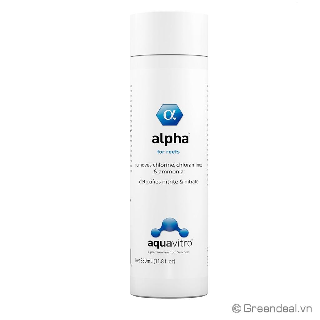 AQUAVITRO - Alpha For Reefs