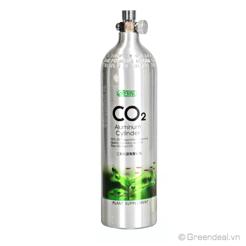 ISTA - CO2 Aluminum Cylinder (Face Up)